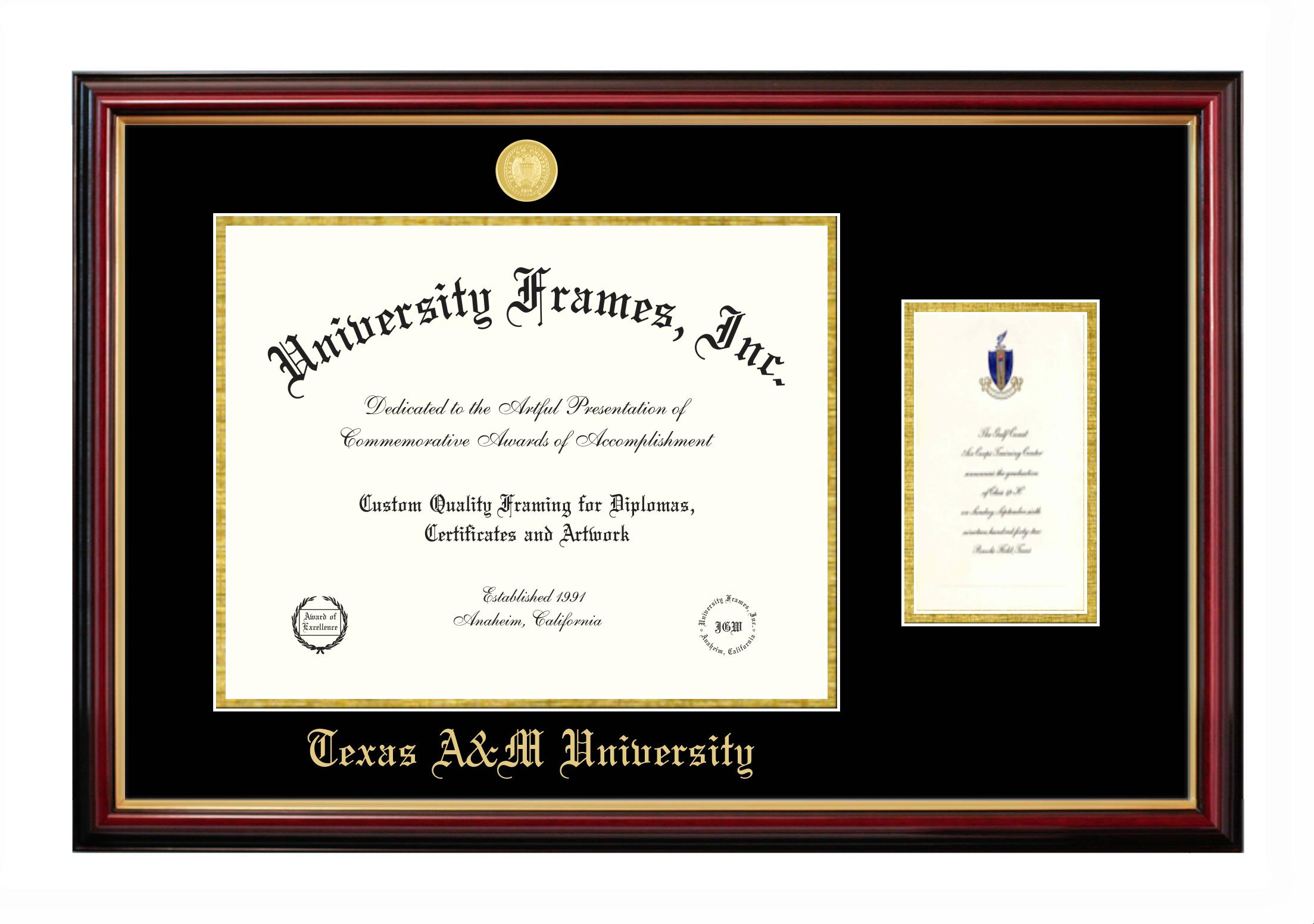 Texas A&M University | Diploma Frames | University Frames